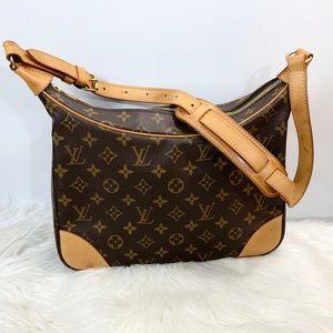 100% Authentic Louis Vuitton Monogram Boulogne